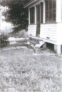 The Huhn bungalow leased by USA. Photo courtesy of Diana Huhn